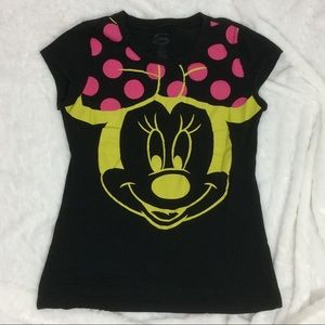 Disney Minnie Mouse Graphic Tee Shirt
